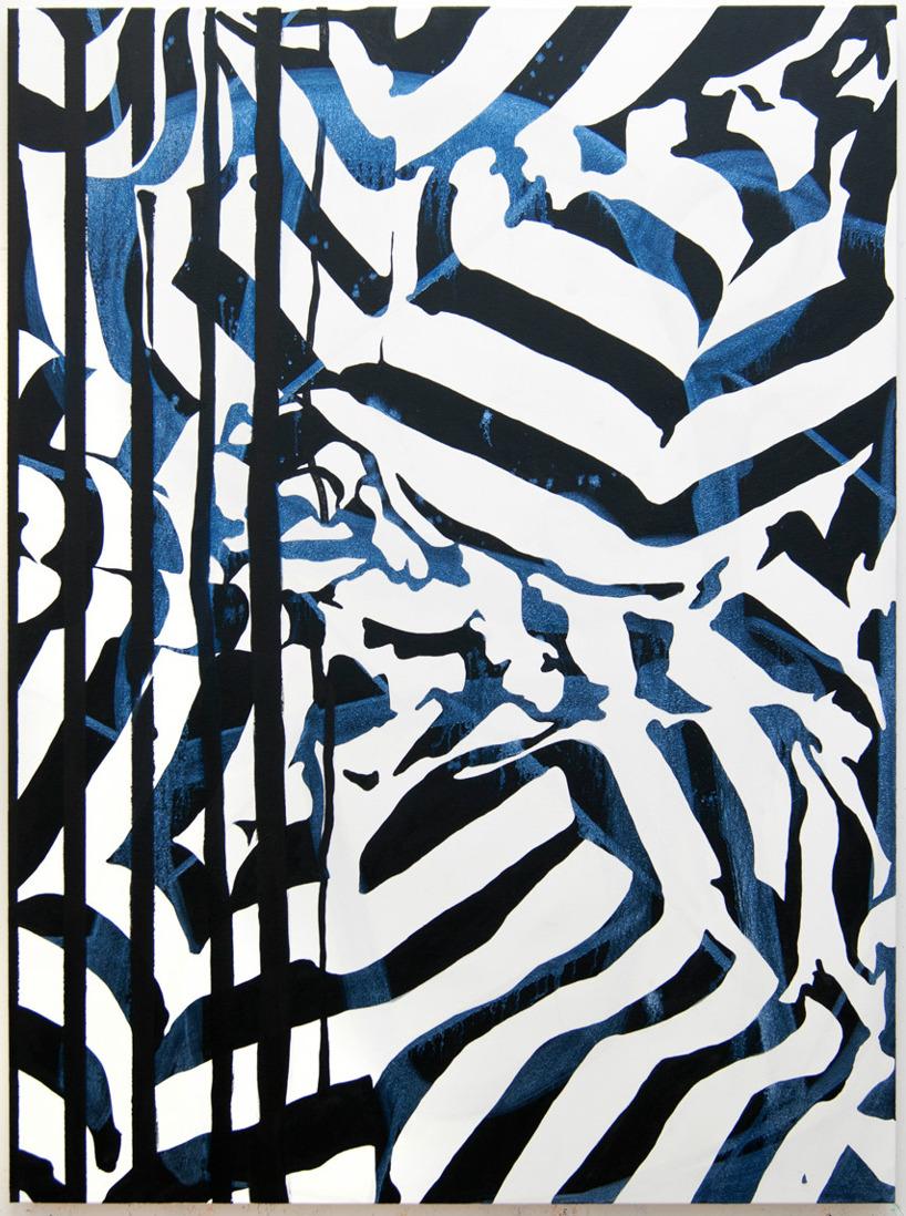 Amelia Midori Miller/ 2013, Fracture, Oil on canvas