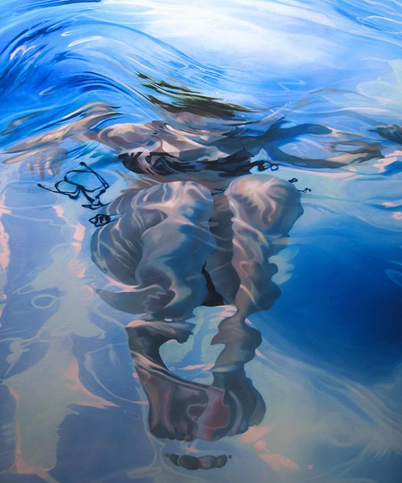 Ribbons of water 2, 2008/ Sarah Harvey