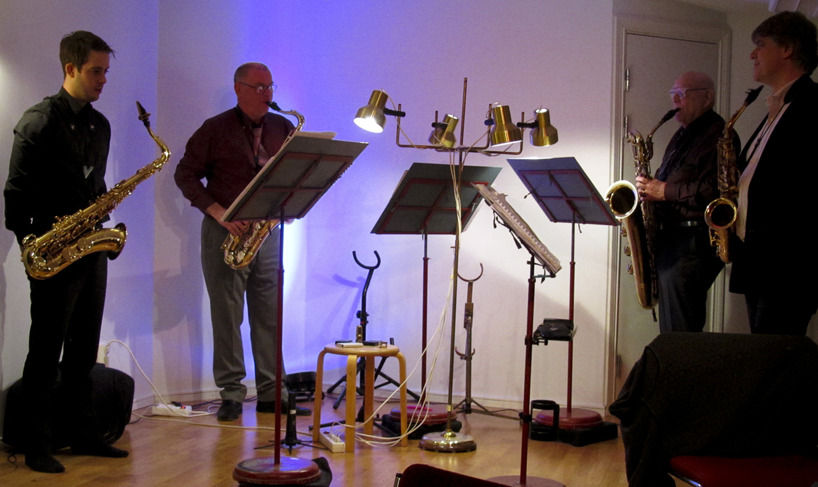 Leif Karlborg och Stockholms Saxofonkvartett