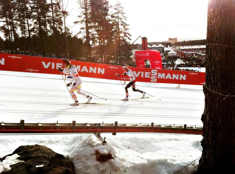längskidåkare/VM i Falun 2015