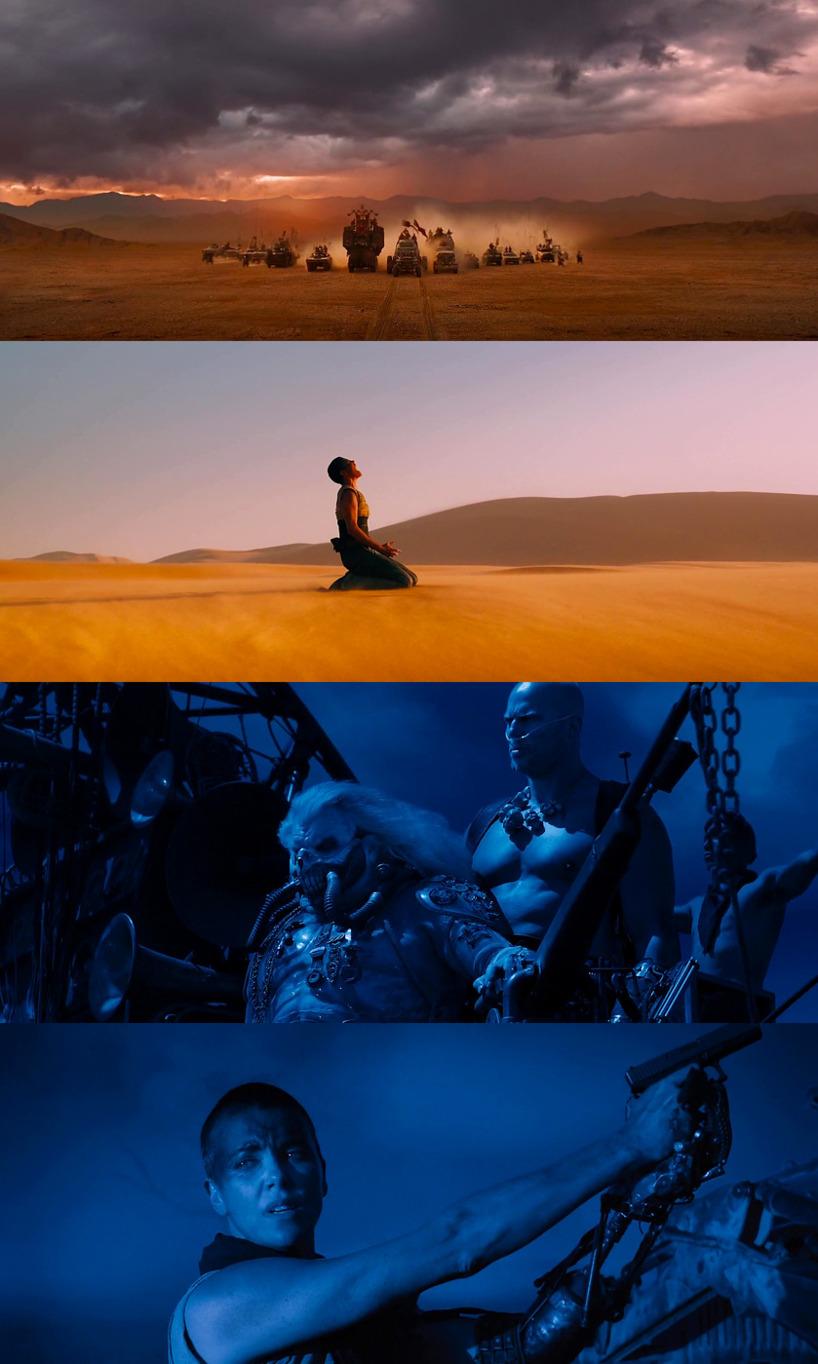 Från filmen Mad Max , Fury Road