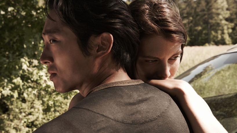 The walking dead. Glenn och Maggie