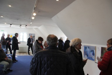 Vernissage den 30 mars