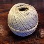 Äkta hampnystan dubbeltvinnat polerat - Hampnystan 6/3 (cirka 2,1 mm) 500gram