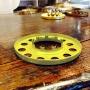 10''' kupring (yttermått: 70 - 85 mm) - 10''' - 85 mm kupring polerad mässing