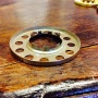 10''' kupring (yttermått: 70 - 85 mm)  (Reservdelar till fotogenlampor) - 10''' - 85 mm kupring antikoxiderad mässing