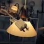 15 eller 20 cm - Skomakarlampor - vit, gul eller grön - Vit liten 150 mm INKL takkontakt