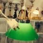 15 eller 20 cm - Skomakarlampor - vit, gul eller grön - Grön liten 150 mm INKL takkontakt