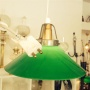 15 eller 20 cm - Skomakarlampor - vit, gul eller grön - Grön stor 200 mm INKL takkontakt