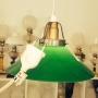 15 eller 20 cm - Skomakarlampor - vit, gul eller grön - Grön stor 200 mm INKL väggkontakt