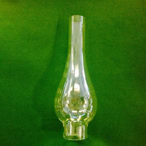 34 mm - Linjeglas 5''' / 6''' lökformad bredare (Glas till fotogenlampa) - Linjeglas 5''' / 6''' (34 mm) hög lökformad bredare modell