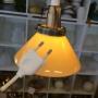 15 eller 20 cm - Skomakarlampor - vit, gul eller grön - Gul liten 150  mm INKL väggkontakt