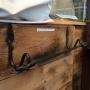 Pappershållare i smide
