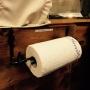 Pappershållare i smide - Hushållspappershållare smide