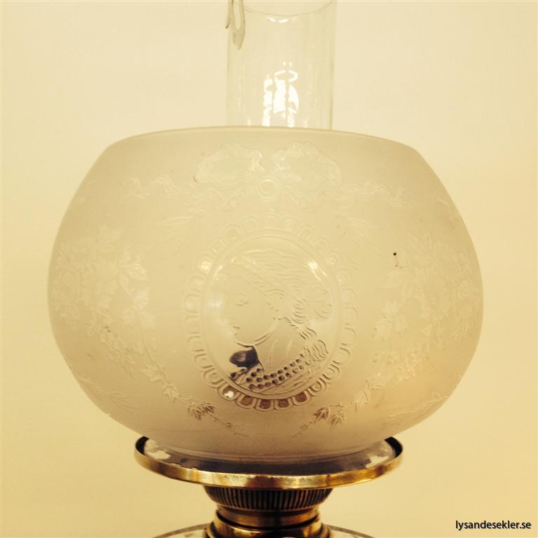 antik kupa fotogenlampa