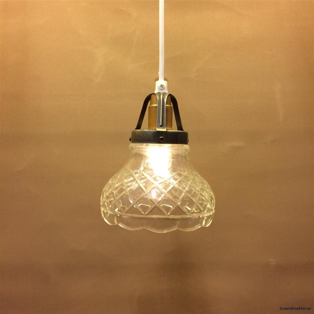 fönsterlampa klarglas pressglas