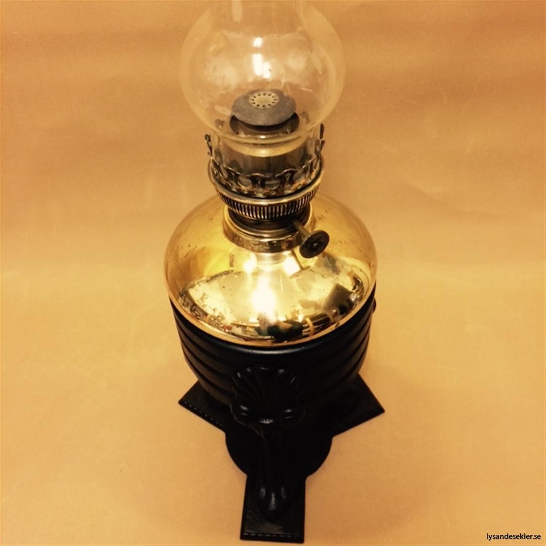 stor fotogenlampa 20 idealbrännare mässing
