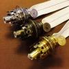 6''' rundbrännare  (med 6''' veke) (Brännare till fotogenlampa)