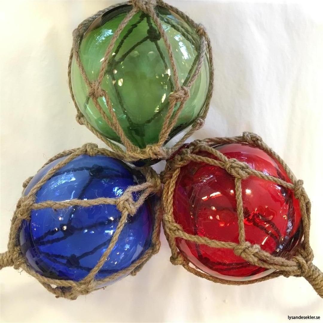 glasflöte glaskula i nät nätflöte glas (3)