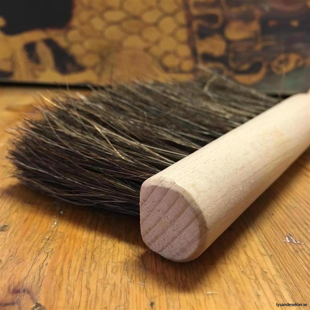 liten sopborste trä tagel
