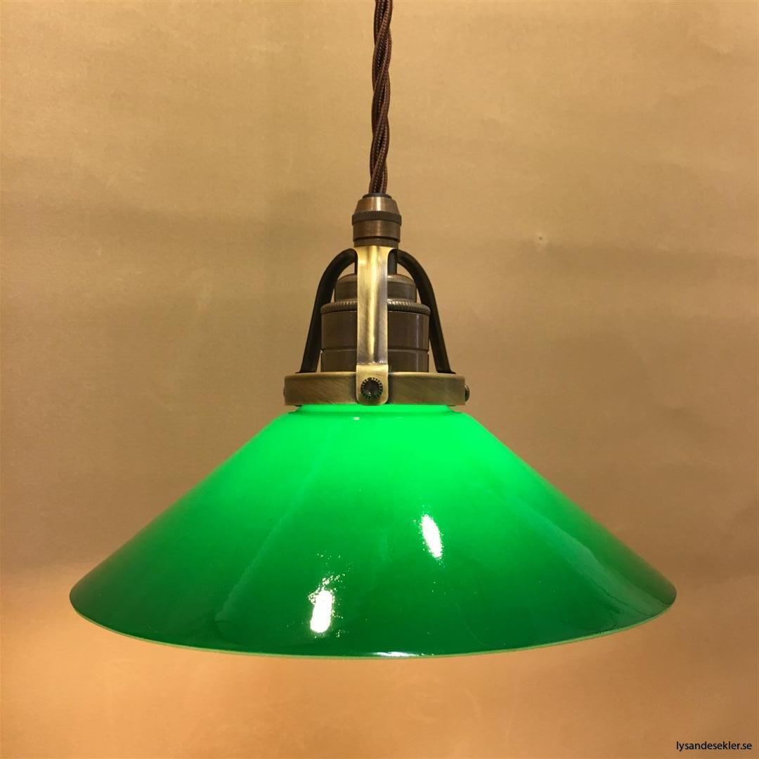 grön skomakarelampa tygsladd textilsladd (2)