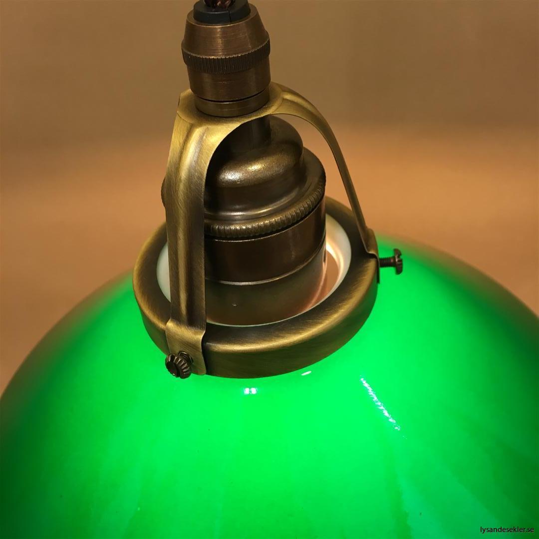 grön skomakarelampa tygsladd textilsladd (4)