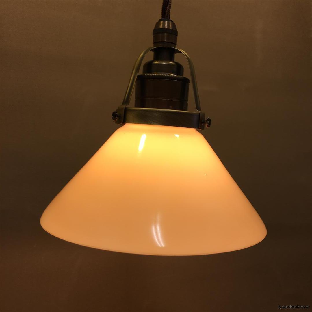 gul skomakarelampa tygsladd textilsladd (9)