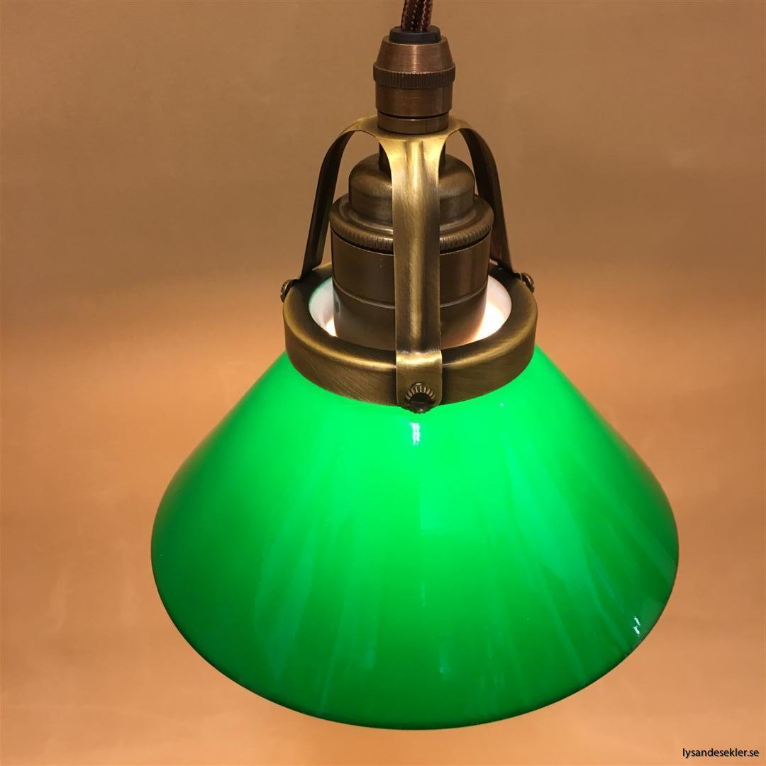 grön skomakarelampa tygsladd textilsladd (9)