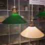 25 cm - Skomakarlampa - vit eller grön