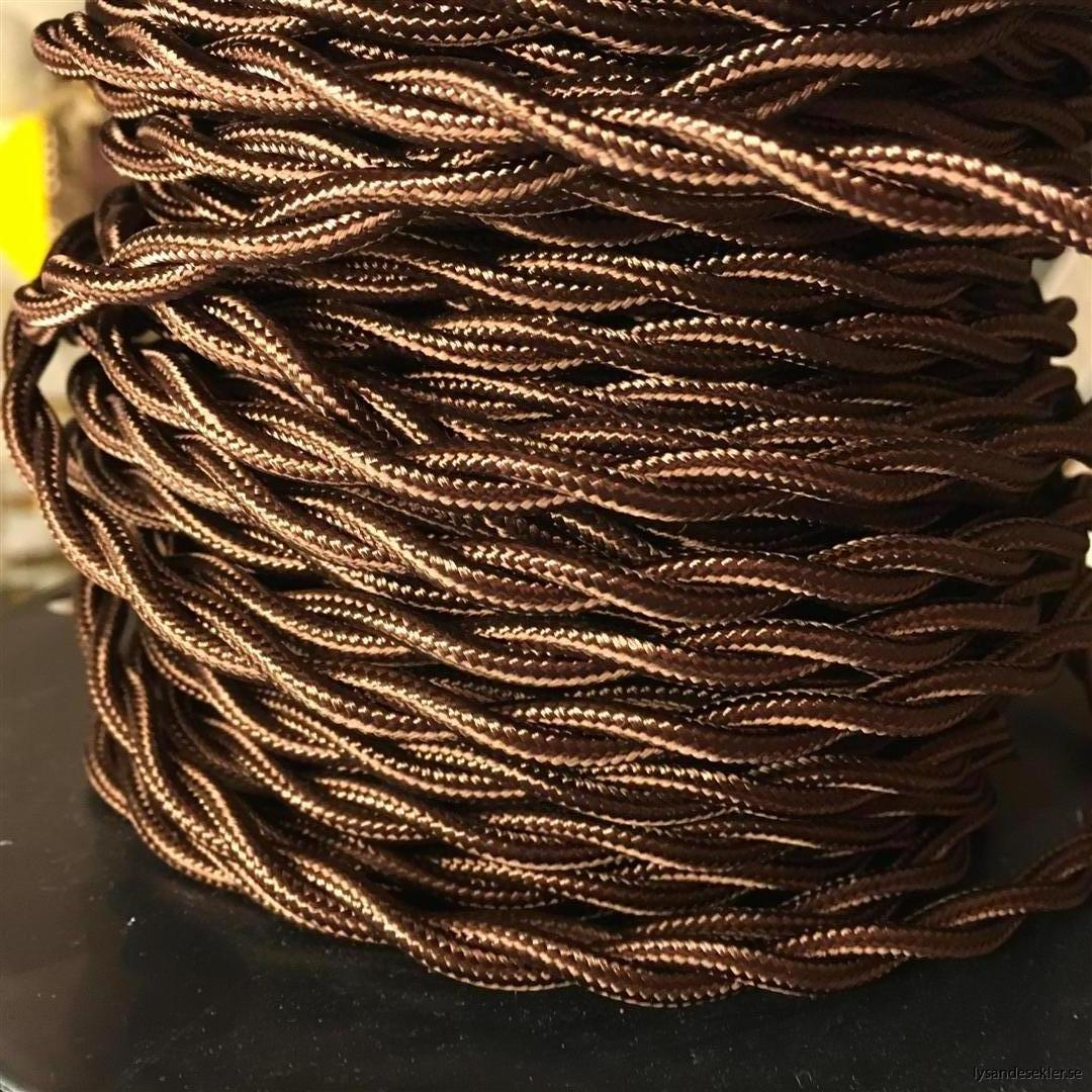 elsladd i tyg textilkabel textilsladd tygsladd tygkabel elektrisk sladd bygga lampa (2)