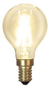 Glödlampa litet klot LED 2W - E14 - Glödlampa LED KOLTRÅD litet klot E14 2W