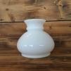 Vestaskärm opal - 125 mm större (Skärm till fotogenlampa) - Vesta vit STOR 125 mm