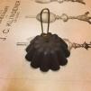 Sotskydd hängande svart (Reservdel till fotogenlampa) - Sotskydd STORT 6 cm hängande svartmålat