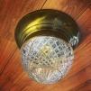 Taklampa ampelplafond slipad/antik 31 cm