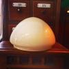 200 mm - Skärm toppig vanilj mellan - till Strindbergslampa