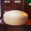 235 mm - Skärm vanilj stor - till Strindbergslampa