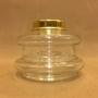 14''' oljehus glas/mässing