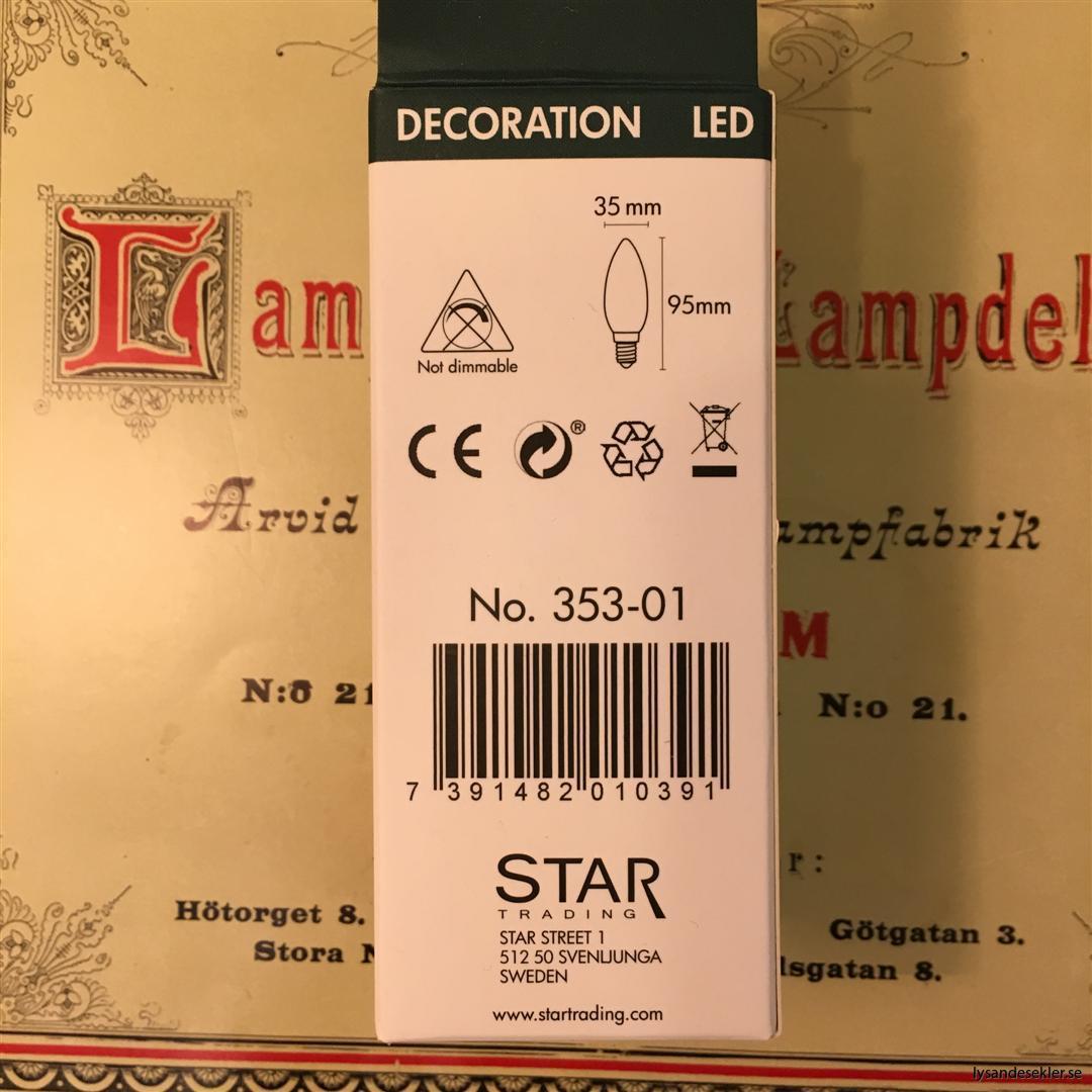 glödlampa kron E14 LED filament (4)