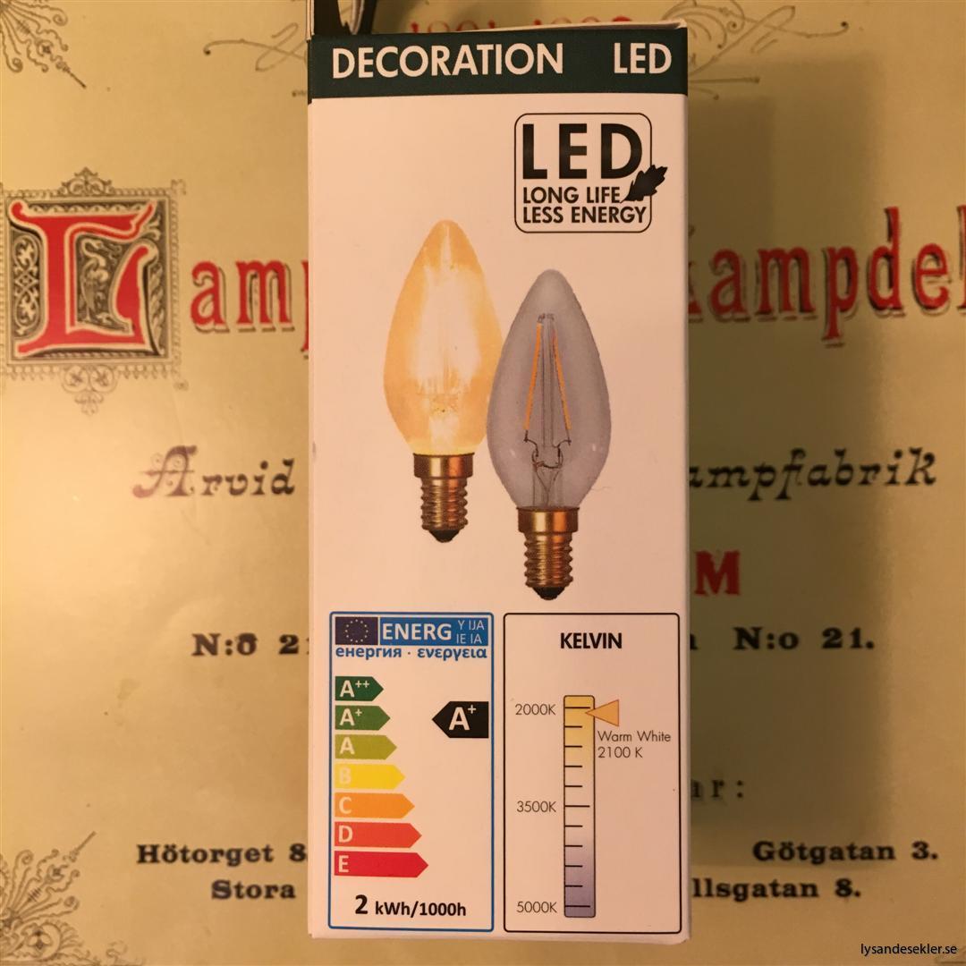 glödlampa kron E14 LED filament (5)
