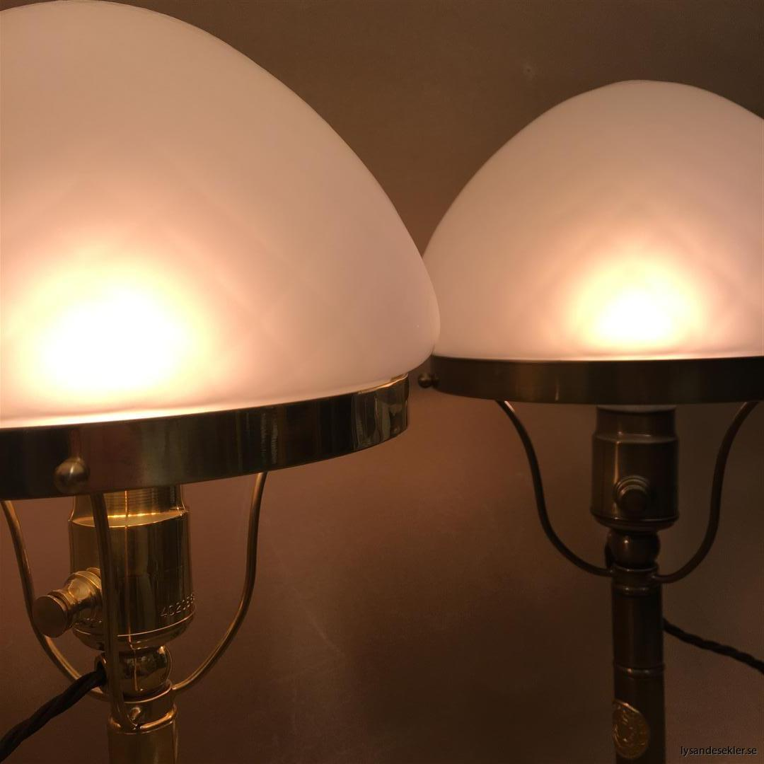 strindbergslampa 200 mm mässing antiklackerad lagerlöf karlskrona lampfabrik (12)