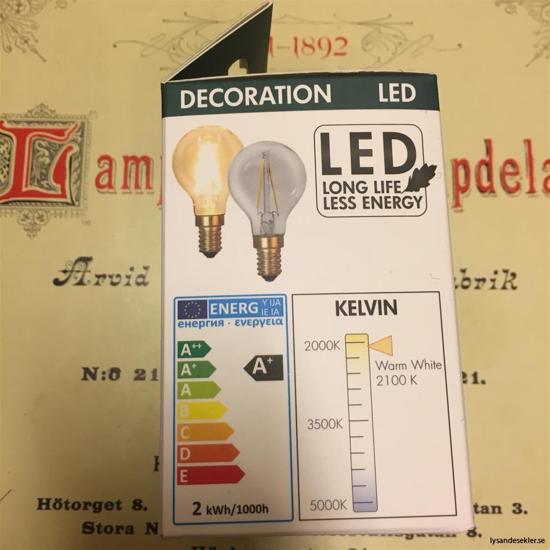 glödlampor LED koltråd filament varmt sken (6)