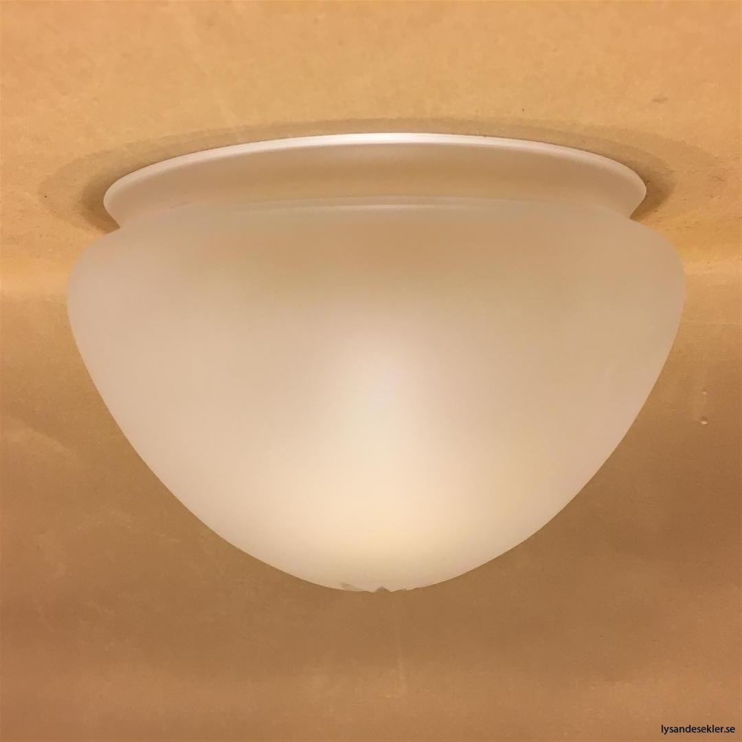 frostad strindbergsskärm med slipning ampelglas