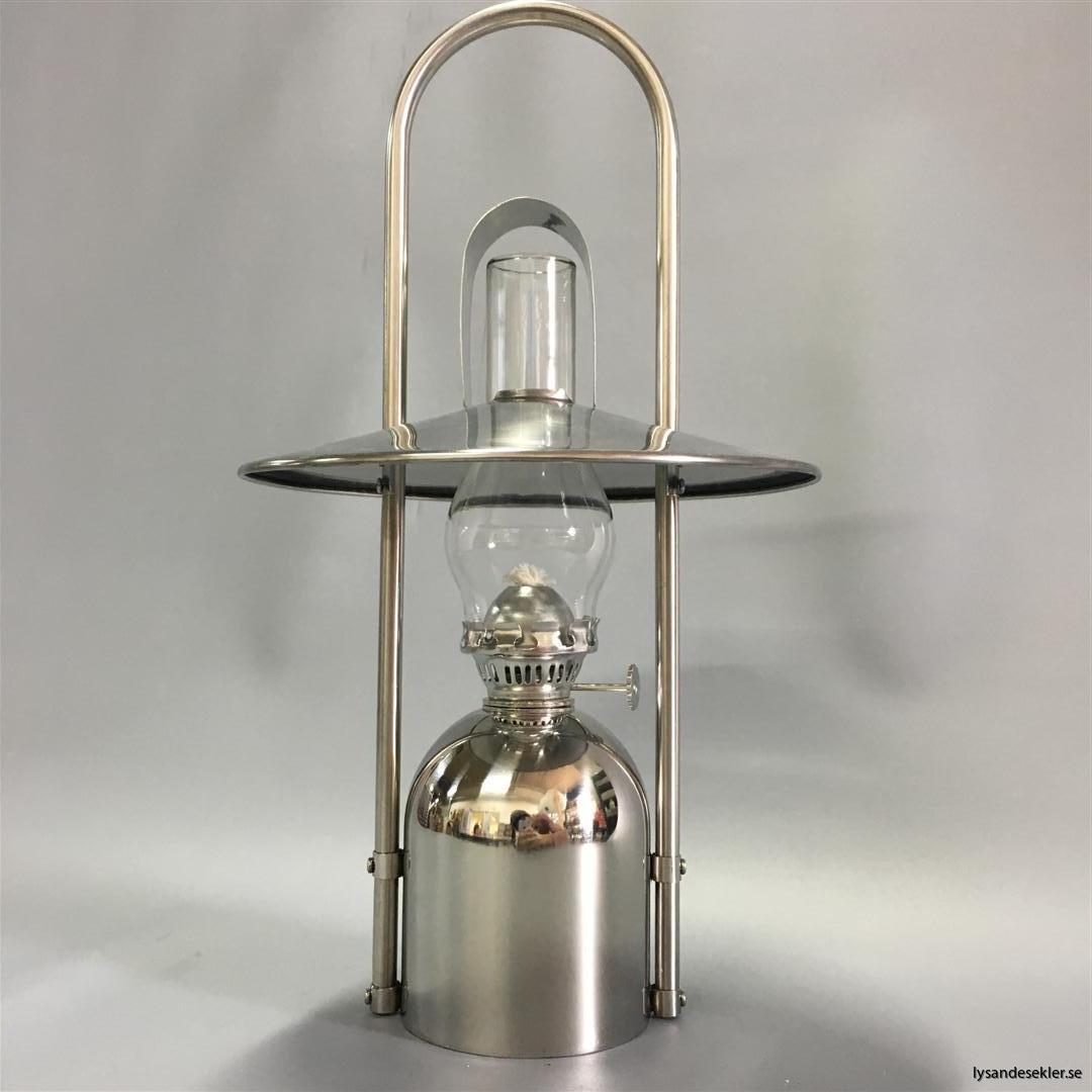 oljelampa fotogenlampa rostfritt stål loggi sampan sampanino dansk design (6)