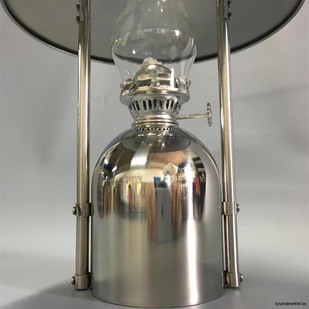 oljelampa fotogenlampa rostfritt stål loggi sampan sampanino dansk design (8)