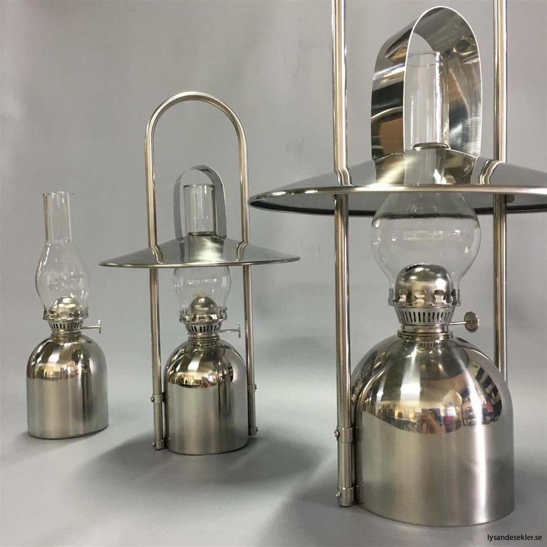 oljelampa fotogenlampa rostfritt stål loggi sampan sampanino dansk design (27)