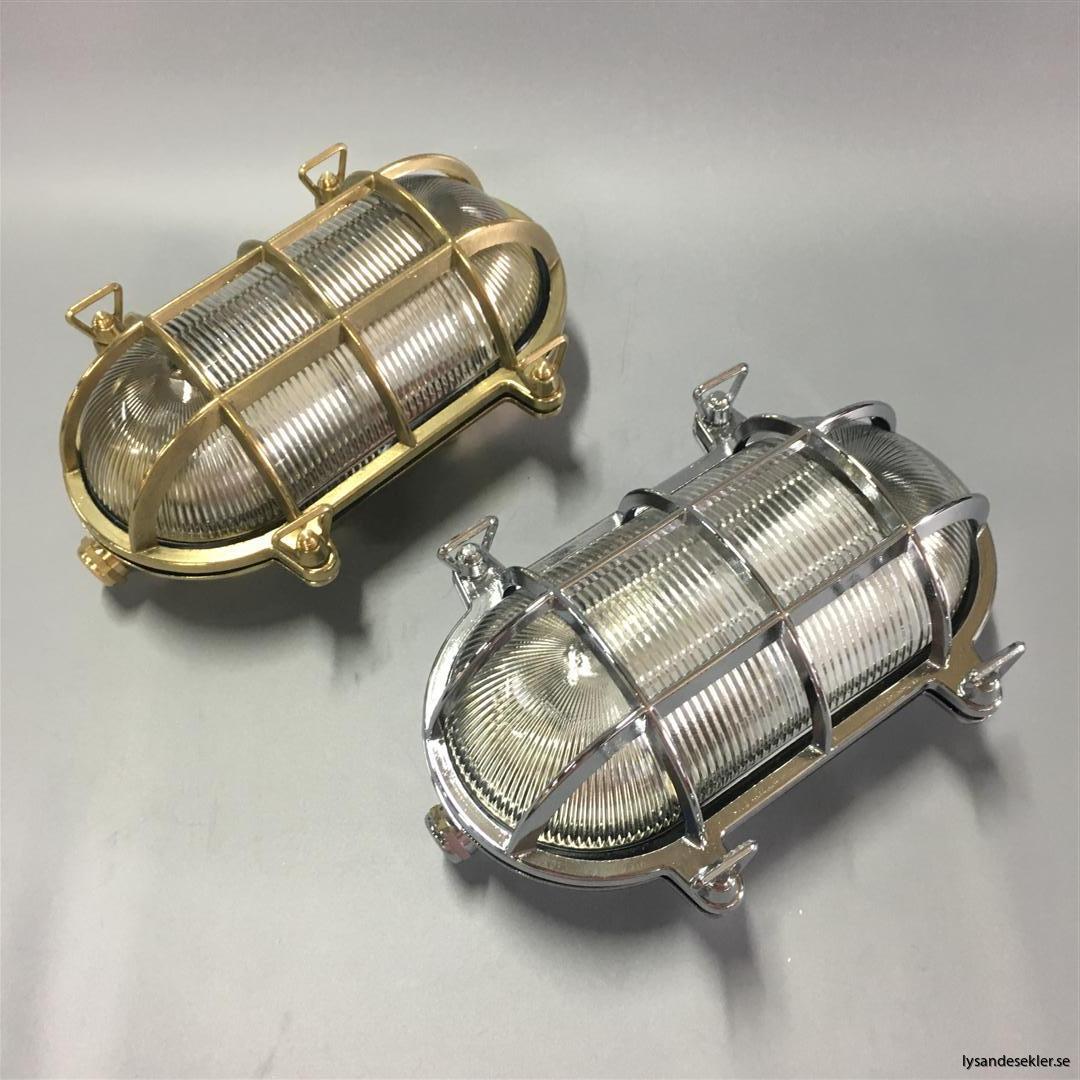 gallerarmatur gallerlampa mässing krom fartygslampa fartygsarmatur marinlampa marinarmatur (56)