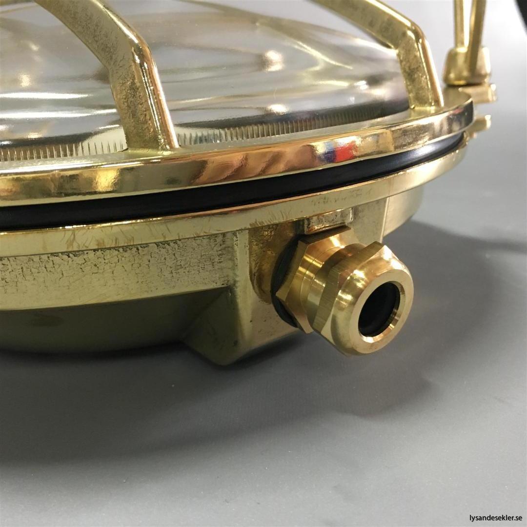 gallerarmatur gallerlampa mässing krom fartygslampa fartygsarmatur marinlampa marinarmatur (78)