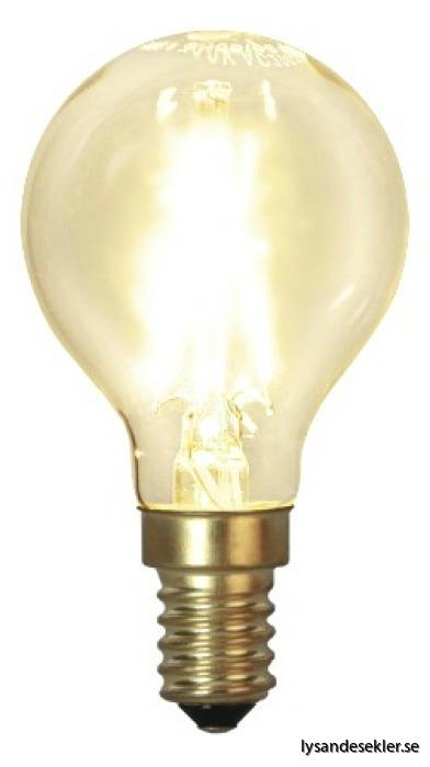 LED klot e14