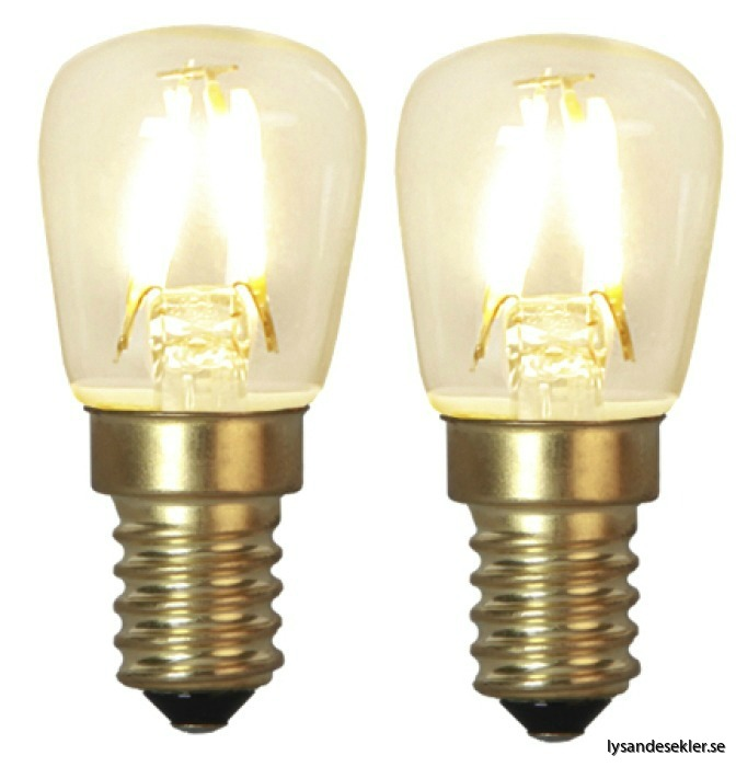 LED päron 2pack