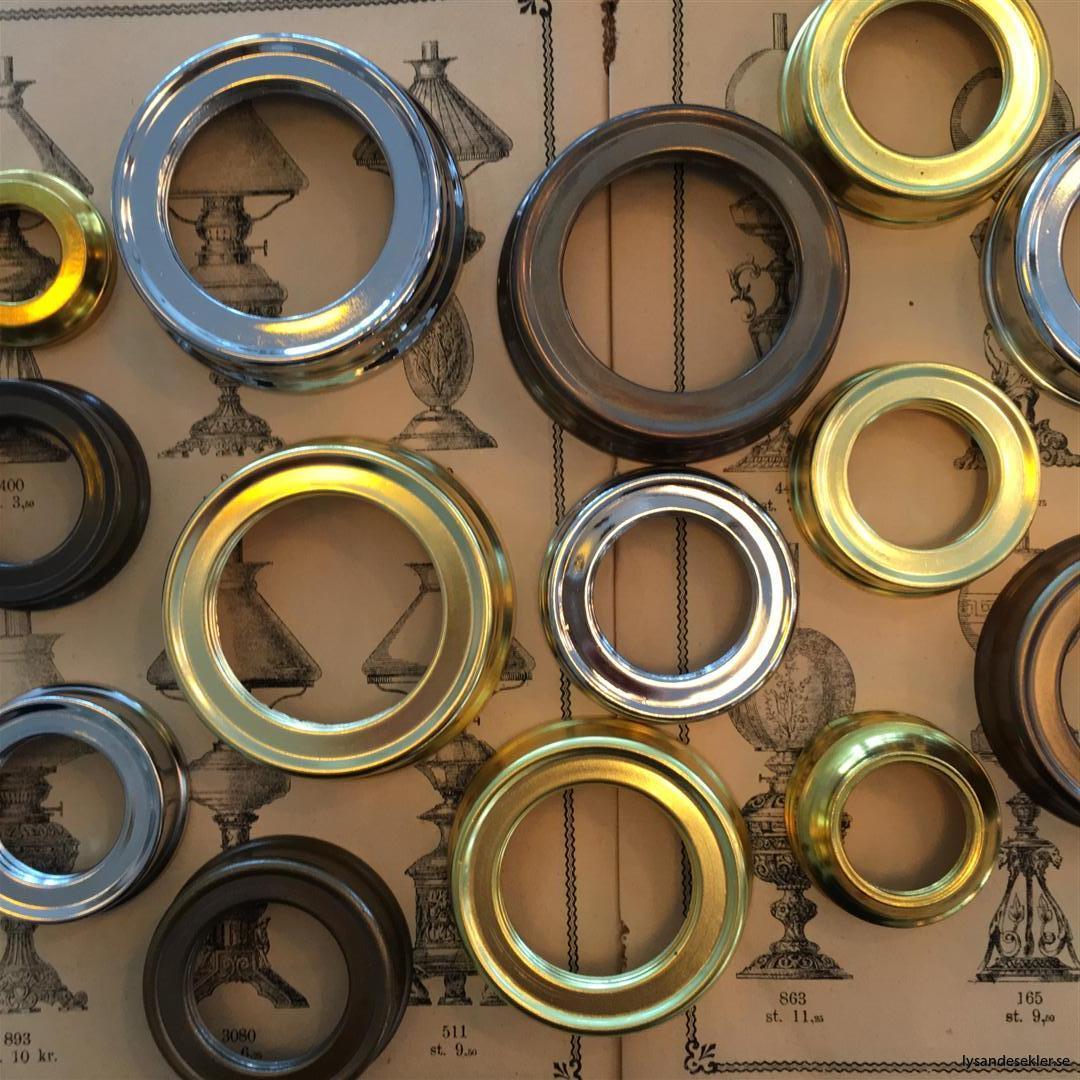 oljehusringar oljehusring ring till fotogenlampa oljehus att gipsa